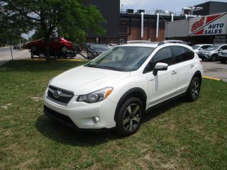Used 2015 Subaru XV Crosstrek HYBRID ~ ACCIDENT FREE ~ PUSH START ~ BACK UP CAM. for sale in Toronto, ON