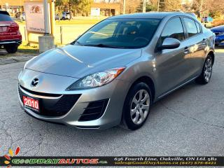 Used 2010 Mazda MAZDA3 GX|LOW KM|WARRANTY|AC|CERTIFIED for sale in Oakville, ON