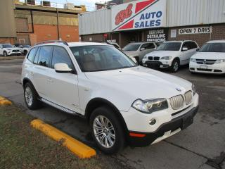 Used 2010 BMW X3 30i ~ WINTER RIMS & TIRES ~ PANO ROOF ~ LOW KM for sale in Toronto, ON