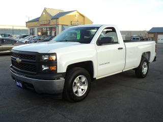 Used 2015 Chevrolet Silverado 1500 WT RegCab 4.3L 8ft Box for sale in Brantford, ON