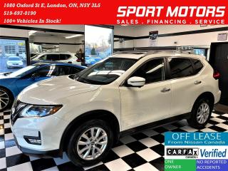 Used 2017 Nissan Rogue SV TECT AWD+FEB+GPS+360 Camera+Roof+ACCIDENT FREE for sale in London, ON