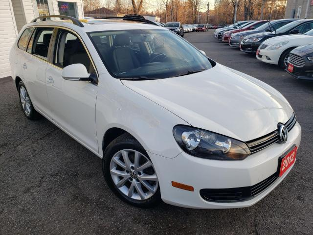 2012 Volkswagen Golf Wagon Comfortline/PANO SUNROOF/HEATED SEATS/BLUETOOTH