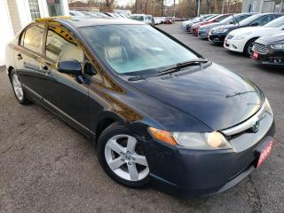 Used 2006 Honda Civic EX/AUTO/LOADED/ALLOYS for sale in Scarborough, ON
