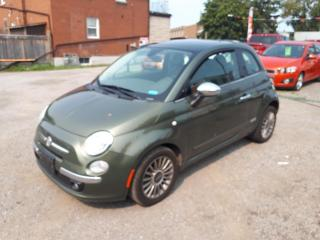 Used 2012 Fiat 500 Lounge for sale in Oshawa, ON