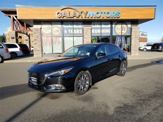 Used 2018 Mazda MAZDA3 GT - Adaptive Cruise Power Heated Seats for sale in Courtenay, BC
