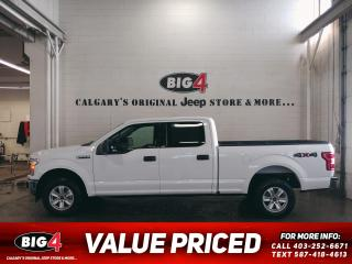 Used 2018 Ford F-150 XLT 6.5ft box for sale in Calgary, AB