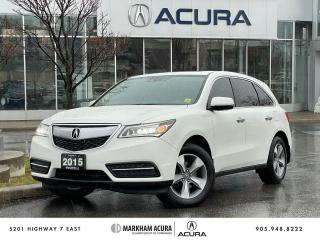 Used 2015 Acura MDX Tech at for sale in Markham, ON