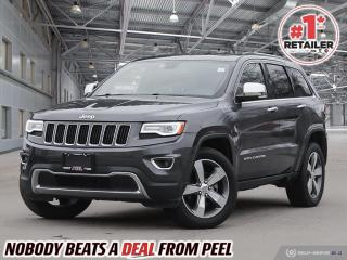 Used 2016 Jeep Grand Cherokee Limited for sale in Mississauga, ON