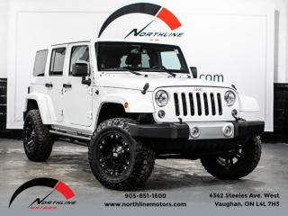 Used 2014 Jeep Wrangler Unlimited Sahara|Navigation|Heated Leather|XD Wheels|Removable Top for sale in Vaughan, ON