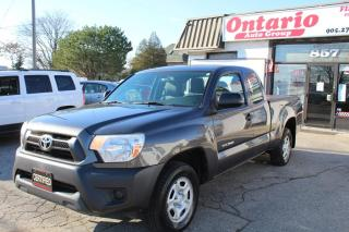 Used 2012 Toyota Tacoma Power options One owner Low kilometer for sale in Mississauga, ON