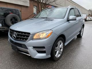Used 2014 Mercedes-Benz ML-Class 4MATIC 4dr ML350, NAV, NO ACCIDENT for sale in North York, ON
