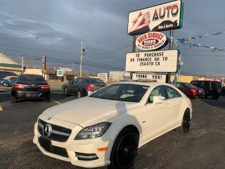 Used 2012 Mercedes-Benz CLS-Class CLS550 4MATIC for sale in Windsor, ON