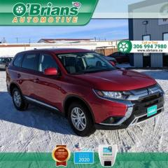 Used 2019 Mitsubishi Outlander ES w/Mfg Warranty, 4WD, Heated Seats, Backup Camera for sale in Saskatoon, SK