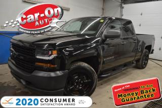 Used 2016 Chevrolet Silverado 1500 TRIPLE BLACK | LEATHER | 20 WHEELS for sale in Ottawa, ON