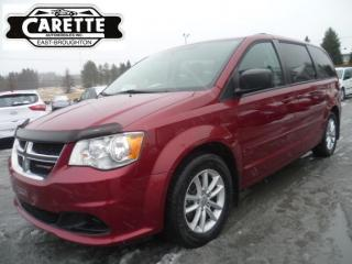 Used 2014 Dodge Grand Caravan Sxt tv-dvd for sale in East broughton, QC