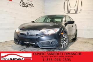 Used 2017 Honda Civic EX for sale in Blainville, QC