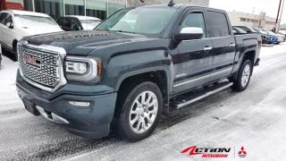 Used 2017 GMC Sierra 1500 DENALI CREW CAB+V8+CUIR+TOIT+GPS+MAGS 20+FULL EQU for sale in St-Hubert, QC