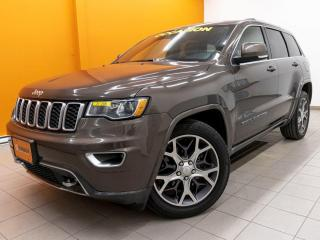 Used 2018 Jeep Grand Cherokee STERLING 4X4 ALERTES SÉCURITÉ TOIT NAV *CUIR* for sale in Mirabel, QC