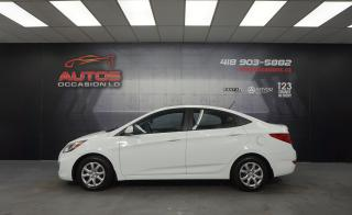 Used 2013 Hyundai Accent GL AUTOMATIQUE A/C SIÈGES BLUETOOTH 107 013 KM !! for sale in Lévis, QC