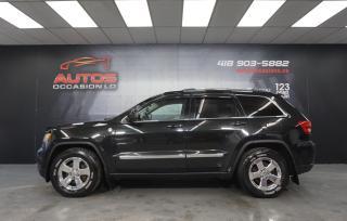 Used 2011 Jeep Grand Cherokee LAREDO 4X4 3.6L AUTO SIEGE DEMARREUR 160 973 KM !! for sale in Lévis, QC