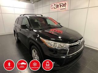 Used 2015 Toyota Highlander LIMITED - AWD - TOIT PANORAMIQUE for sale in Québec, QC