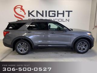 New 2021 Ford Explorer XLT, Sport package! for sale in Moose Jaw, SK