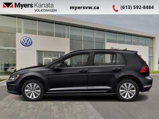 Used 2017 Volkswagen Golf Trendline  - Certified - Bluetooth for sale in Kanata, ON