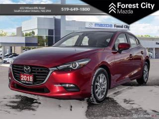 Used 2018 Mazda MAZDA3 Sport MOONROOF i-ACTIVESENSE PACKAGE for sale in London, ON