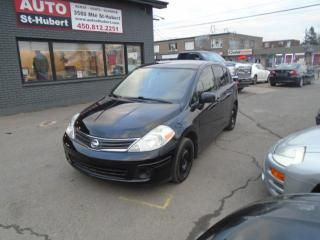 Used 2010 Nissan Versa 1.8S ** 105 000 KM ** for sale in St-Hubert, QC