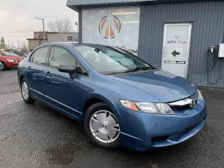 Used 2010 Honda Civic ***DX-G,BIEN CHAUSSÉ,A/C,MAGS*** for sale in Longueuil, QC