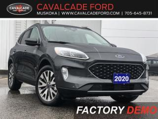 Used 2020 Ford Escape Titanium for sale in Bracebridge, ON