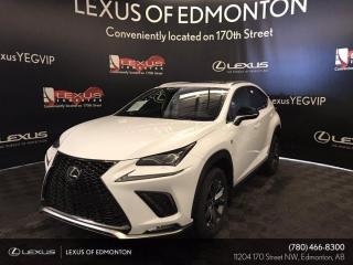 New 2021 Lexus NX 300 F Sport Series 3 for sale in Edmonton, AB