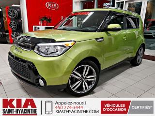 Used 2016 Kia Soul SX ** CAMÉRA DE RECUL / CUIR for sale in St-Hyacinthe, QC
