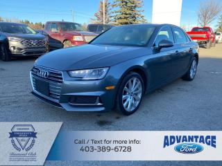 Used 2019 Audi A4 45 Komfort for sale in Calgary, AB