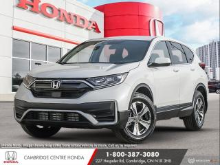 New 2021 Honda CR-V LX LANE DEPARTURE SYSTEM | APPLE CARPLAY™ & ANDROID AUTO™ | HONDA SENSING TECHNOLOGIES for sale in Cambridge, ON