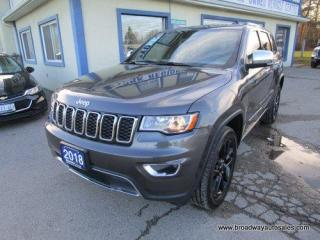 Used 2018 Jeep Grand Cherokee LOADED LIMITED EDITION 5 PASSENGER 3.6L - V6.. 4X4 SYSTEM.. SELEC-TERRAIN PACKAGE.. LEATHER.. HEATED SEATS.. NAVIGATION.. BACK-UP CAMERA.. BLUETOOTH.. for sale in Bradford, ON