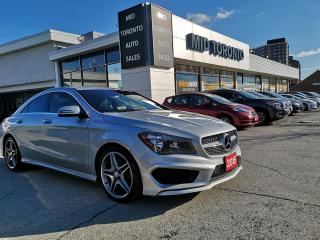 Used 2015 Mercedes-Benz CLA250 4MATIC - AMG Pkg - Navigation - One Owner - Excellent Condition - Drives Great for sale in North York, ON
