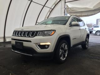 Used 2020 Jeep Compass Limited LEATHER TRIMMED BUCKET SEATS, FACTORY REMOTE STARTER, HEATED SEATS/STEERING WHEEL for sale in Ottawa, ON