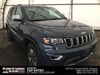 Used 2019 Jeep Grand Cherokee Limited COMPANY DRIVEN VEHICLE, LEATHER TRIMMED BUCKET SEATS, HEATED SEATS/STEERING WHEEL for sale in Ottawa, ON