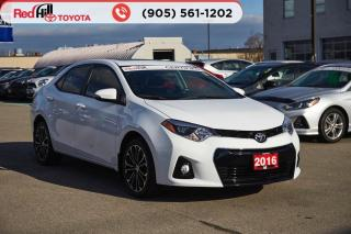 Used 2016 Toyota Corolla S for sale in Hamilton, ON
