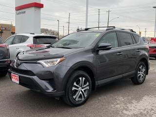 Used 2017 Toyota RAV4 LE-ONE OWNER+BOUGHT+SERVICED HERE! for sale in Cobourg, ON