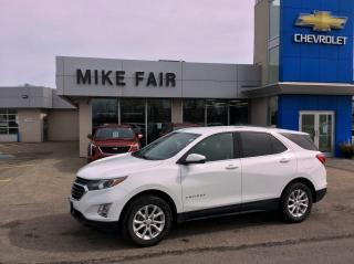 Used 2018 Chevrolet Equinox 1LT AWD, rear park assist, remote start, rear camera, summer/winter tires for sale in Smiths Falls, ON