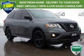 Used 2018 Nissan Pathfinder Midnight Edition MIDNIGHT EDITION AWD LEATHER INTERIOR for sale in Innisfil, ON