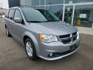 Used 2018 Dodge Grand Caravan Crew Remote Start, Stow N Go, Heated Seats, Leather! for sale in Ingersoll, ON
