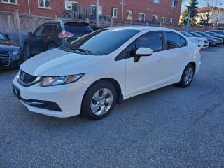 Used 2015 Honda Civic LX for sale in Scarborough, ON