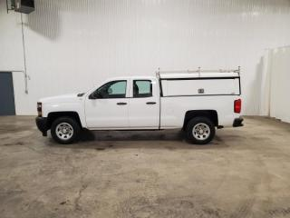 Used 2015 Chevrolet Silverado 1500 Work Truck Double Cab 2WD for sale in Dundurn, SK