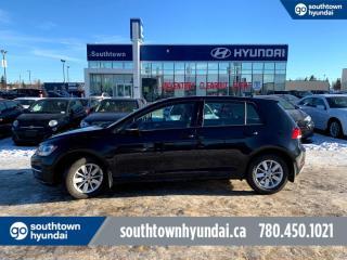 Used 2018 Volkswagen Golf TRENDLINE PRICE+/BACKUP CAM/HEATED SEATS/HATCH for sale in Edmonton, AB