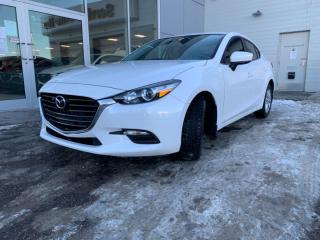 Used 2018 Mazda MAZDA3 50TH ANNIVERSARY - LEATHER, HEATED SEATS AND WHEEL, BACK UP. BLUETOOTH AND MUCH MORE for sale in Edmonton, AB