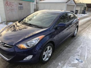 Used 2012 Hyundai Elantra GLS for sale in Winnipeg, MB