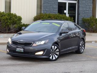Used 2011 Kia Optima SX TURBO,LEATHER,NAV,REAR-CAM,NO-ACCIDENT,CERTIFIE for sale in Mississauga, ON